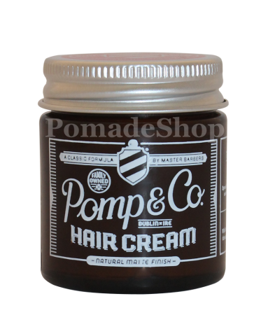 Pomp & Co Hair Cream, Travel Size 1oz