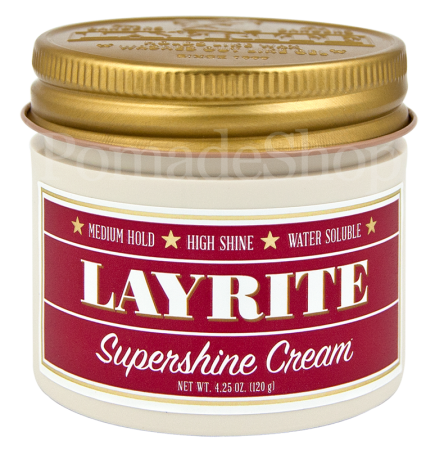 Layrite Super SHINE Cream, 4 oz