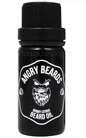 Angry Beards Beard Oil Bobby Citrus 10 ml