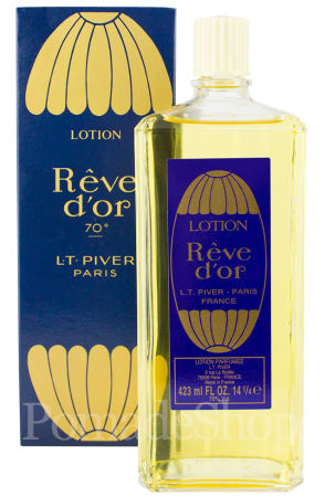 L.T. Piver Rêve d'or Lotion, 423 ml.