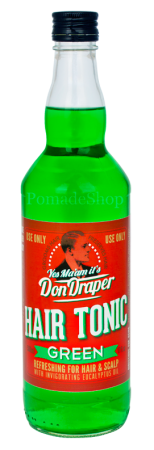DON DRAPER Hair Tonic GREEN