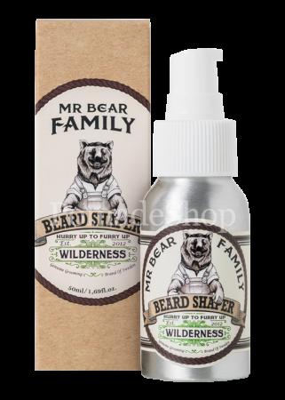 Mr Bear Family Beard Shaper Wilderness