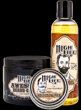 High Life Awesome Beard Bundle