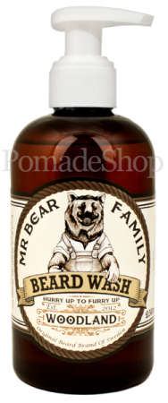 Mr. Bear Family BEARD WASH, Woodland