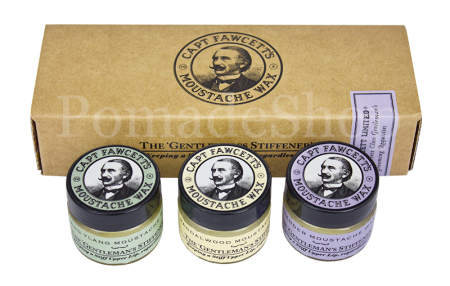 Captain Fawcett Moustache Wax Set