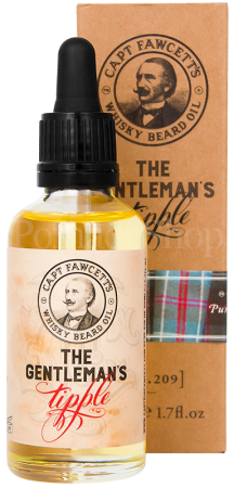 Captain Fawcett`s Whisky Beard Oil, 50 ml