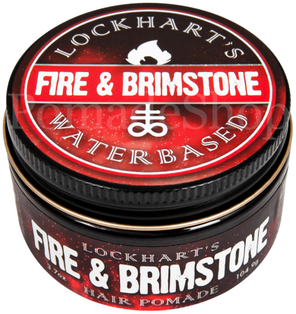 Lockhart's Fire & Brimstone Waterbased Pomade