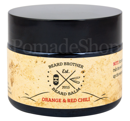 Beard Brother Beard Balm Orange and Red Chili