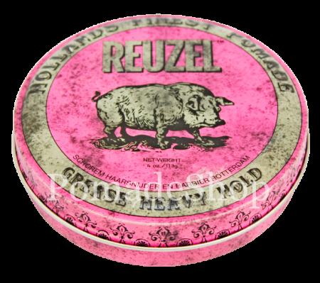 """Pink Reuzel"", Grease Heavy Hold Pomade, by Schorem"