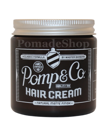 "Pomp & Co Hair Cream, ""Regular size"" 4oz"