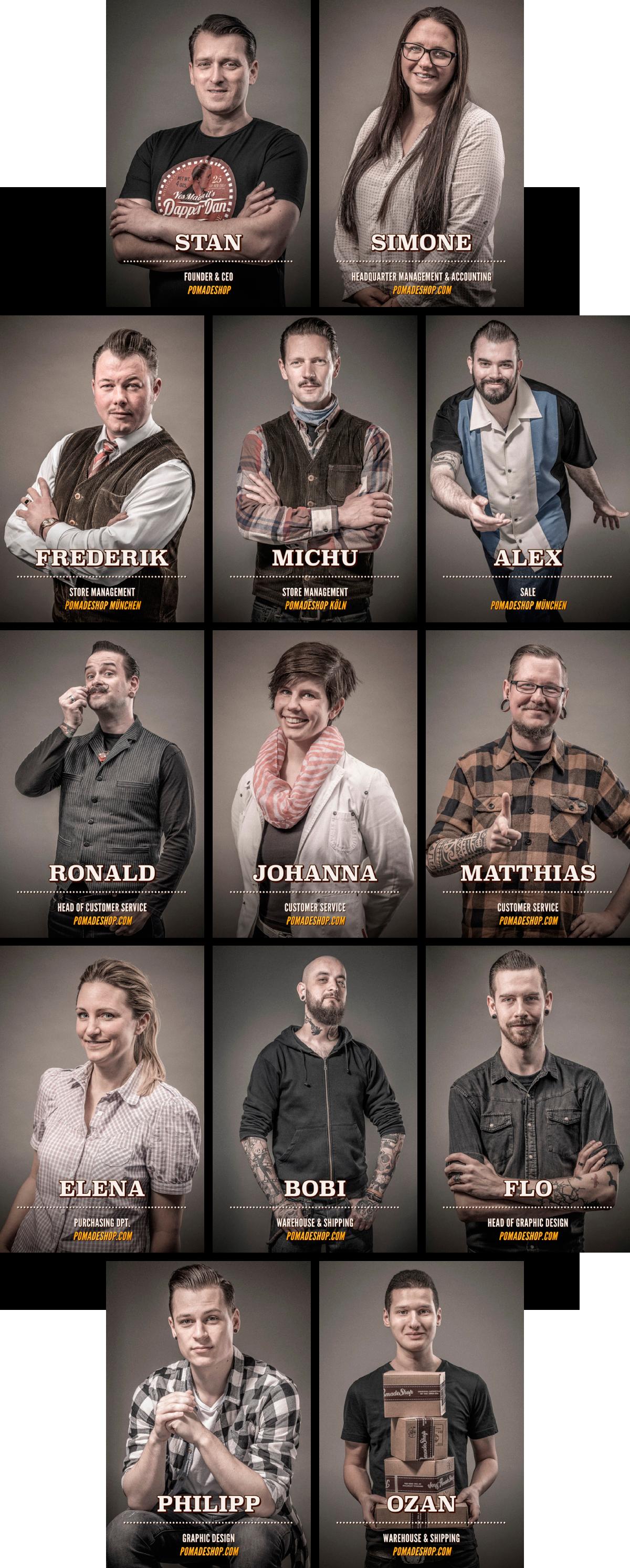 PomadeShop-Team