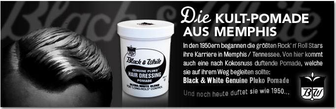 Black White Pomadeshop