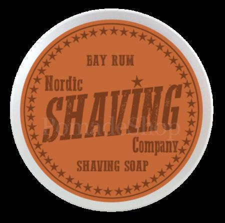 "Nordic Shaving SHAVING SOAP ""Bay Rum"""