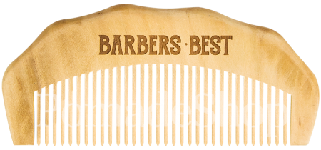 Barber's Best Bartkamm