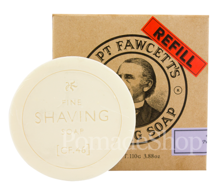 Captain Fawcett's Shaving Soap Refill