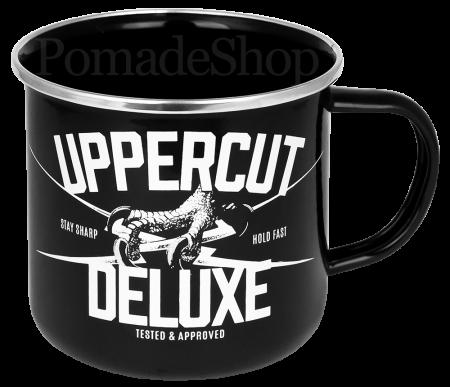 Uppercut Black Enamel Mug