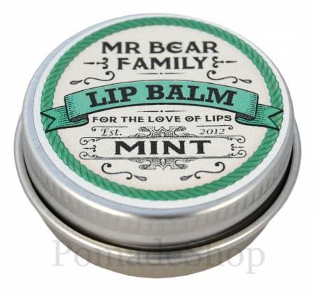 Mr. Bear Lip Balm, Mint