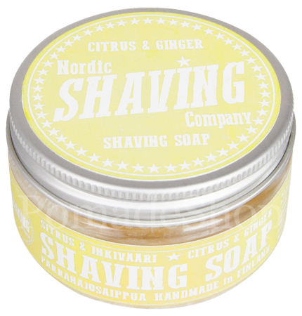 Nordic Shaving Soap Citrus Ginger