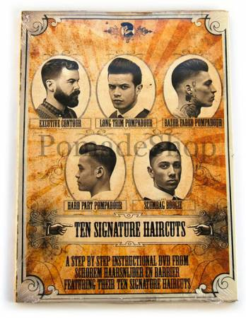"DVD ""TEN SIGNATURE HAIRCUTS"", by Schorem"