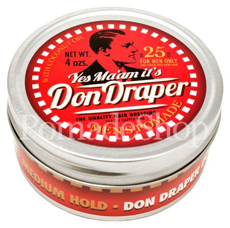 Don Draper Men's Pomade