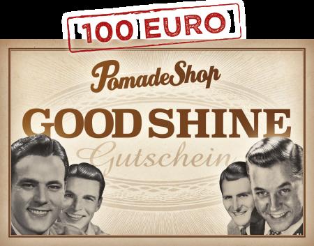 PomadeShop Gutschein 100 Euro