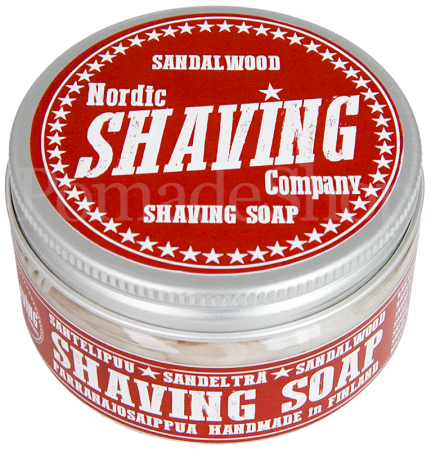 Nordic Shaving Soap Sandalwood