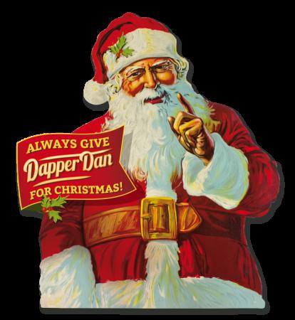 Dapper Dan Santa Claus