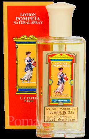 L.T. Piver Pompeia Lotion Spray, 100 ml.