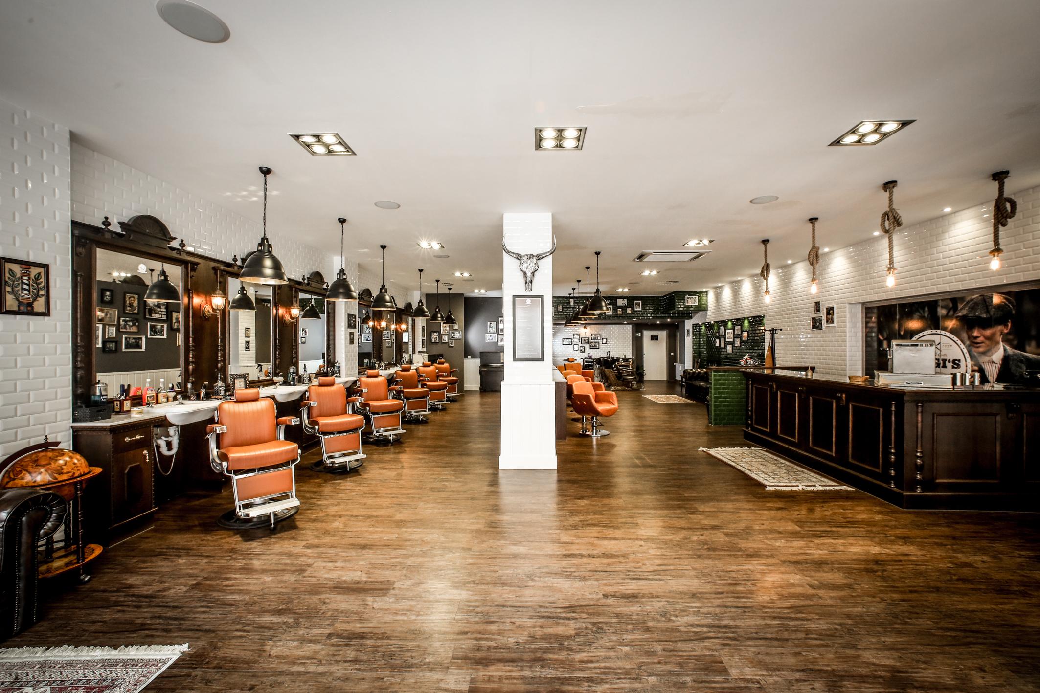 Barber Shops Friseure Pomadeshop