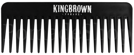 King Brown Texture Comb black
