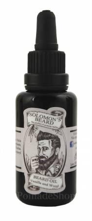 Solomon's Beard Bartöl Vanilla and Wood