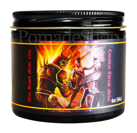 Lockhart´s  Grease All End All - WAX BASED MATTE CLAY