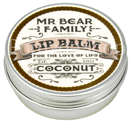 Mr. Bear Lip Balm, COCONUT