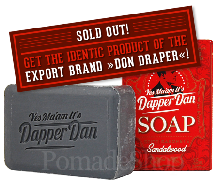 "DAPPER DAN Soap ""Sandalwood"""
