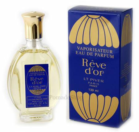 L.T. Piver Rêve d'or, Eau De Parfum SPRAY, 139 ml.