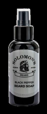 Solomon's Bartseife Black Pepper