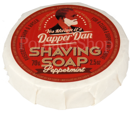 Dapper Dan Shaving Soap Peppermint