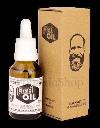 Beyer's Oil Eisenkraut Bartöl