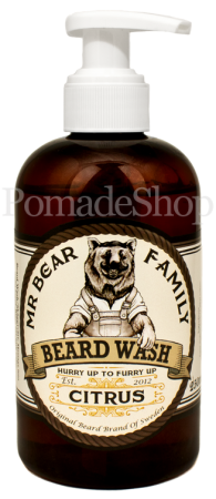 Mr. Bear Family BEARD WASH, Citrus