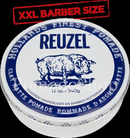 Reuzel Clay Pomade XXL Barber Size
