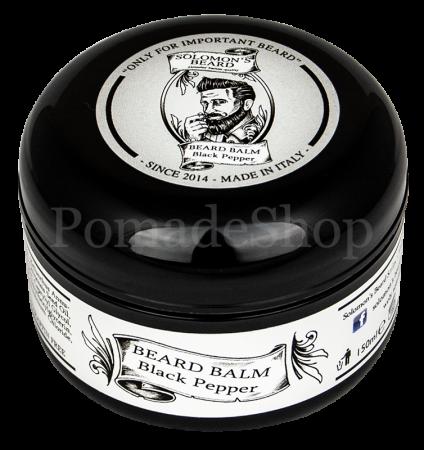 Solomon's Beard Black Pepper Beard Balm