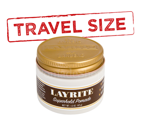 Layrite Super Hold Pomade Travel Size
