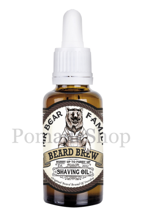 Mr Bear Family Shaving Oil