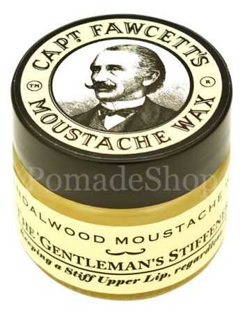 Captain Fawcett Moustache Wax Sandelholz