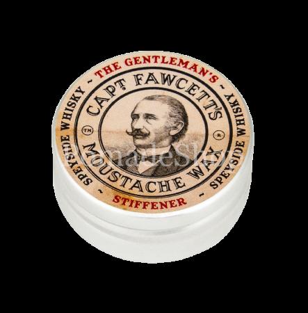 Captain Fawcett's Gentleman's Stiffener Malt Whisky Moustache Wax