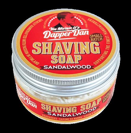 Dapper Dan Shaving Soap Small Batch Sandalwood