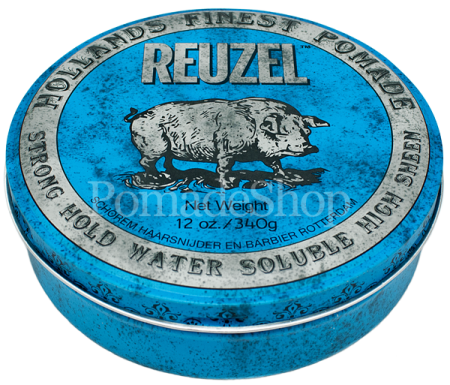 """Blaue Reuzel"" BIG Strong Hold High Sheen by Schorem"