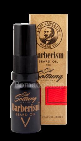 Captain Fawcett's Barberism Beard Oil Travel Size 10 ml