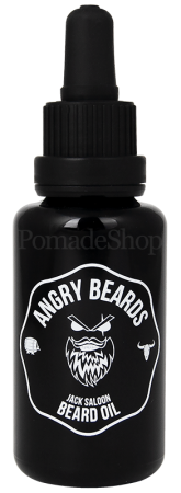 Angry Beards Beard Oil Jack Saloon