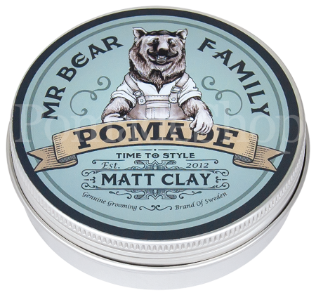 Mr Bear Family Matt Clay Pomade